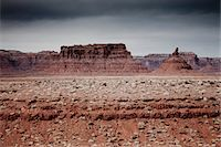 Sandstone Formations in the Valley of the Gods Stock Photo - Premium Rights-Managednull, Code: 822-05555011