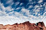 Sandstone Formations and Cloudy Blue Sky Stock Photo - Premium Rights-Managed, Artist: ableimages, Code: 822-05555038