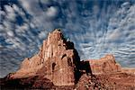 Sandstone Fins and Cloud Formations Stock Photo - Premium Rights-Managed, Artist: ableimages, Code: 822-05555064
