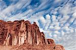 Sandstone Fins and Cloud Formations Stock Photo - Premium Rights-Managed, Artist: ableimages, Code: 822-05555065