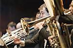 Brass section in orchestra Stock Photo - Premium Royalty-Free, Artist: R. Ian Lloyd, Code: 649-05555714