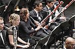 Winds section in orchestra Stock Photo - Premium Royalty-Free, Artist: Blend Images, Code: 649-05555718