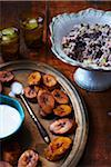 Fried Plantain with Rice and Beans Stock Photo - Premium Rights-Managed, Artist: John Cullen, Code: 700-05560171