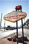 Downtown Las Vegas Sign, Las Vegas, Nevada, USA Stock Photo - Premium Rights-Managed, Artist: Michael Alberstat, Code: 700-05560267