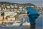 View of Harbour and Mont Boron, Nice, Cote d'Azur, France Stock Photo - Premium Rights-Managed, Artist: Matt Brasier, Code: 700-05560327