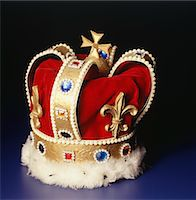 Royal crown Stock Photo - Premium Royalty-Freenull, Code: 6106-05579779