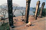 Thien Mu Pagoda, Thap Phoc Duyen Tower, Hue, Vietnam Stock Photo - Premium Royalty-Free, Artist: Cusp and Flirt, Code: 6106-05587381