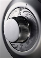 Close Up of a Combination Lock on a Safe Stock Photo - Premium Royalty-Freenull, Code: 6106-05588871