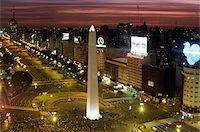 people in argentina - Pedestrian Crossing at the Obelisk in the Plaza de la Republic, Buenos Aires, Argentina Stock Photo - Premium Royalty-Freenull, Code: 6106-05591167