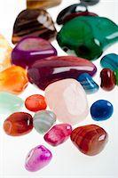 semiprecious gemstones Stock Photo - Premium Royalty-Freenull, Code: 618-05605366