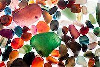 semiprecious gemstones Stock Photo - Premium Royalty-Freenull, Code: 618-05605372
