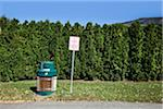 Garbage can and sign Stock Photo - Premium Royalty-Free, Artist: Aurora Photos, Code: 618-05605373