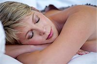 Mature woman asleep Stock Photo - Premium Rights-Managednull, Code: 847-05606996