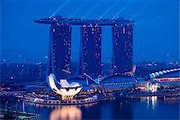 Marina Bay Sands Resort, Marina Bay, Singapore Stock Photo - Premium Rights-Managednull, Code: 700-05609417