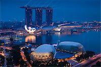 Marina Bay Sands Resort, Marina Bay, Singapore Stock Photo - Premium Rights-Managednull, Code: 700-05609418