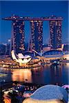Marina Bay Sands Resort, Marina Bay, Singapore Stock Photo - Premium Rights-Managed, Artist: R. Ian Lloyd, Code: 700-05609420