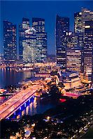 Shenton Way and Financial District, Singapore Stock Photo - Premium Rights-Managednull, Code: 700-05609421