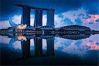 Marina Bay Sands Resort, Marina Bay, Singapore Stock Photo - Premium Rights-Managednull, Code: 700-05609431