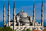 The Blue Mosque, Istanbul, Turkey Stock Photo - Premium Rights-Managed, Artist: R. Ian Lloyd, Code: 700-05609434