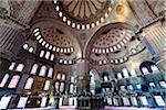 Interior of Blue Mosque, Istanbul, Turkey Stock Photo - Premium Rights-Managed, Artist: R. Ian Lloyd, Code: 700-05609460