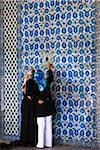 Two Woman Looking at Tile, Rustem Pasha Mosque, Istanbul, Turkey Stock Photo - Premium Rights-Managed, Artist: R. Ian Lloyd, Code: 700-05609533
