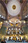 Interior of Yeni Camii Mosque, Eminonu, Istanbul, Turkey Stock Photo - Premium Rights-Managed, Artist: R. Ian Lloyd, Code: 700-05609535
