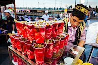 Food Stand beside Galata Bridge, Eminonu, Fatih District, Istanbul, Turkey Stock Photo - Premium Rights-Managednull, Code: 700-05609540