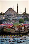 Boats in front of Suleymaniye and Yeni Camii Mosques, Eminonu District, Istanbul, Turkey Stock Photo - Premium Rights-Managed, Artist: R. Ian Lloyd, Code: 700-05609542