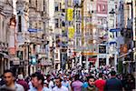 Crowded Street Scene, Istiklal Caddesi, Beyoglu District, Istanbul, Turkey Stock Photo - Premium Rights-Managed, Artist: R. Ian Lloyd, Code: 700-05609547