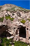 Dwellings at Zelve Archaeological Site, Cappadocia, Nevsehir Province, Turkey Stock Photo - Premium Rights-Managed, Artist: R. Ian Lloyd, Code: 700-05609558