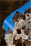 Rock Formation Dwellings, Pasabagi, Cappadocia, Turkey Stock Photo - Premium Rights-Managed, Artist: R. Ian Lloyd, Code: 700-05609574