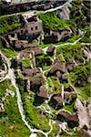 Aerial View of Ruins from Uchisar Castle, Uchisar, Cappadocia, Turkey Stock Photo - Premium Rights-Managed, Artist: R. Ian Lloyd, Code: 700-05609589