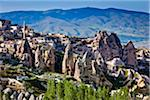 Rock Formation Dwellings, Pigeon Valley, Cappadocia, Turkey Stock Photo - Premium Rights-Managed, Artist: R. Ian Lloyd, Code: 700-05609594