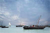 Dhows off Zanzibar Island, Tanzania Stock Photo - Premium Rights-Managednull, Code: 700-05609668