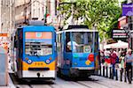 Trams, Sofia, Bulgaria Stock Photo - Premium Rights-Managed, Artist: R. Ian Lloyd, Code: 700-05609798