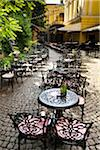 Outdoor Cafe at National Art Gallery, Sofia, Bulgaria Stock Photo - Premium Rights-Managed, Artist: R. Ian Lloyd, Code: 700-05609799