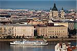 Danube River and Overview of Budapest, Hungary Stock Photo - Premium Rights-Managed, Artist: R. Ian Lloyd, Code: 700-05609801