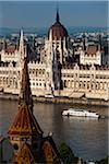 Hungarian Parliament Building, Budapest, Hungary Stock Photo - Premium Rights-Managed, Artist: R. Ian Lloyd, Code: 700-05609803