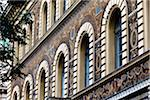 Close-Up of Building Windows, Andrassy Ut, Budapest, Hungary Stock Photo - Premium Rights-Managed, Artist: R. Ian Lloyd, Code: 700-05609814