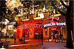 Moulin Rouge Nightclub, Theatre District along Nagymezo Street, Budapest, Hungary Stock Photo - Premium Rights-Managed, Artist: R. Ian Lloyd, Code: 700-05609829