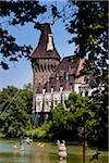 Vajdahunyad Castle, City Park, Budapest, Hungary Stock Photo - Premium Rights-Managed, Artist: R. Ian Lloyd, Code: 700-05609830