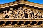 Close-Up of Tympanum, St. Stephen's Basilica, Budapest, Hungary Stock Photo - Premium Rights-Managed, Artist: R. Ian Lloyd, Code: 700-05609837