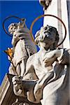 Close-Up of Trinity Statue, Castle Hill, Budapest, Hungary Stock Photo - Premium Rights-Managed, Artist: R. Ian Lloyd, Code: 700-05609853