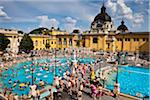 Szechenyi Thermal Baths Complex, Budapest, Hungary Stock Photo - Premium Rights-Managed, Artist: R. Ian Lloyd, Code: 700-05609860