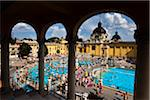 Szechenyi Thermal Baths Complex, Budapest, Hungary Stock Photo - Premium Rights-Managed, Artist: R. Ian Lloyd, Code: 700-05609861