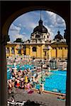 Szechenyi Thermal Baths Complex, Budapest, Hungary Stock Photo - Premium Rights-Managed, Artist: R. Ian Lloyd, Code: 700-05609862