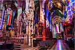 Interior of St. Stephen's Cathedral, Stephanplatz, Vienna, Austria Stock Photo - Premium Rights-Managed, Artist: R. Ian Lloyd, Code: 700-05609872