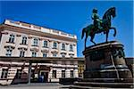 Albertina and Equestrian Statue, Innere Stadt, Vienna, Austria Stock Photo - Premium Rights-Managed, Artist: R. Ian Lloyd, Code: 700-05609893
