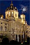 Kunsthistorisches Museum at Night, Vienna, Austria Stock Photo - Premium Rights-Managed, Artist: R. Ian Lloyd, Code: 700-05609903