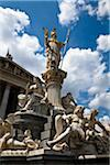 Pallas-Athene Fountain, Austrian Parliament Building, Vienna, Austria Stock Photo - Premium Rights-Managed, Artist: R. Ian Lloyd, Code: 700-05609910